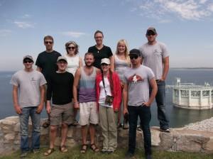 Time lapse crane trust central interns 2014 tour