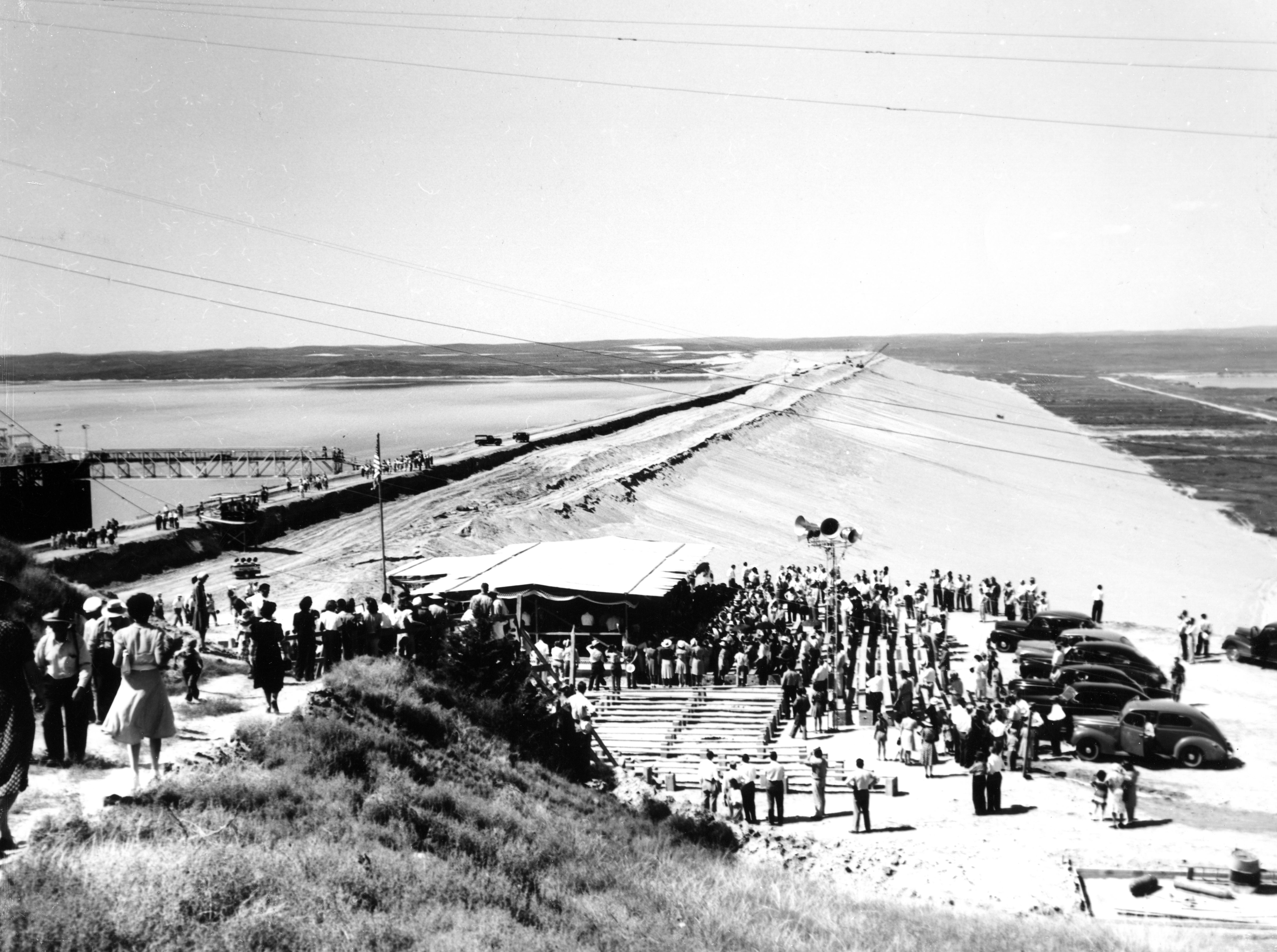 Kingsley Dam Dedication – July 22, 1941