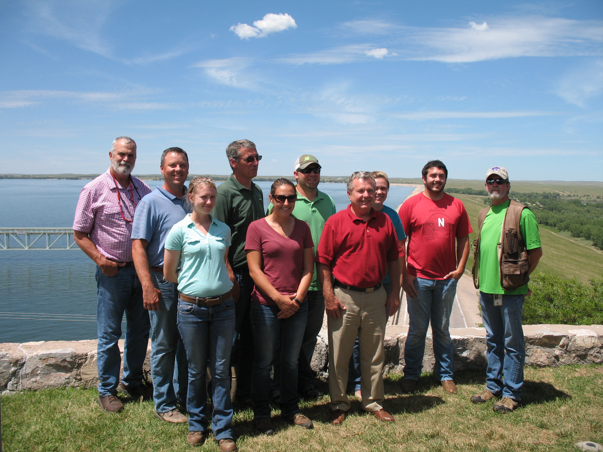 NRCS Boss, Employees Tour Project