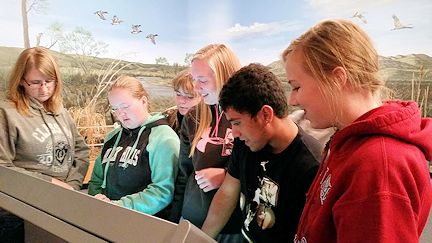 Elwood High School Science Club Tours Project