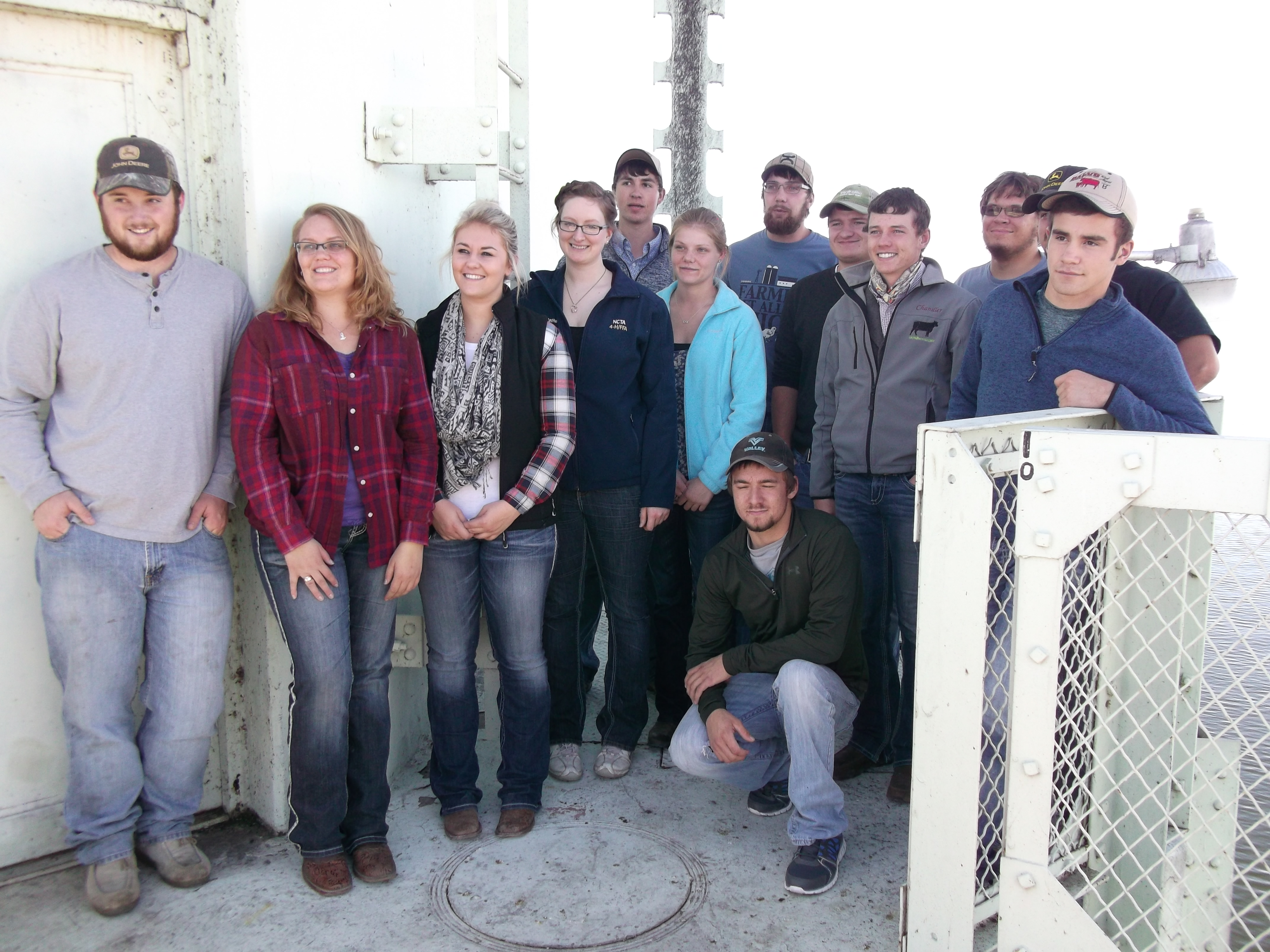 Nebraska College of Technical Agriculture Students Visit Lake McConaughy