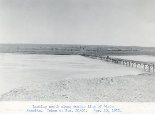 Lisco bridge 1922