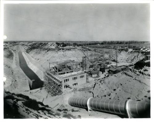 Jeffrey Hydroplant construction