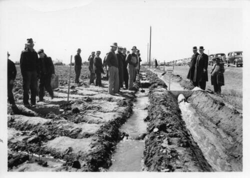 irrigation demonstration